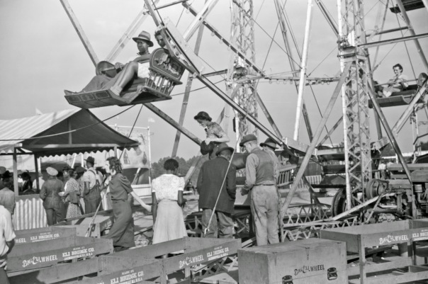 Photo courtesy Jack Delano, a county fair in Georgia Taken in October 1941.